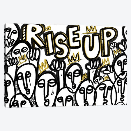 Rise Up II Canvas Print #BRP35} by Bri Pippens Canvas Print