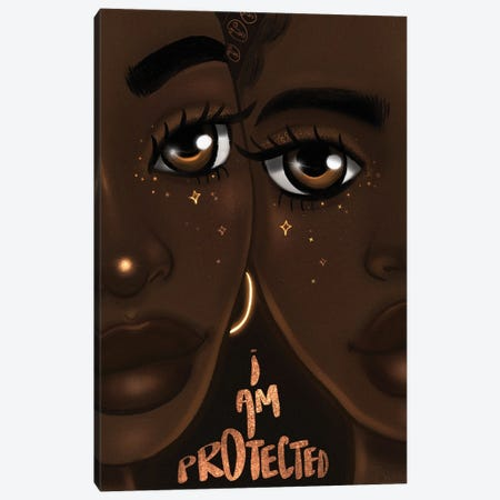 I Am Protected Canvas Print #BRP40} by Bri Pippens Canvas Print