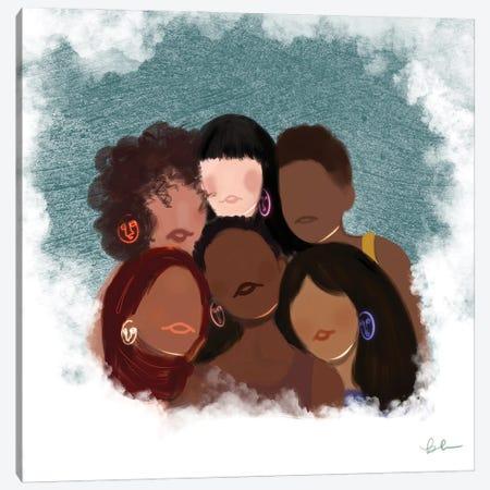 Empowered Women Canvas Print #BRP44} by Bri Pippens Canvas Artwork