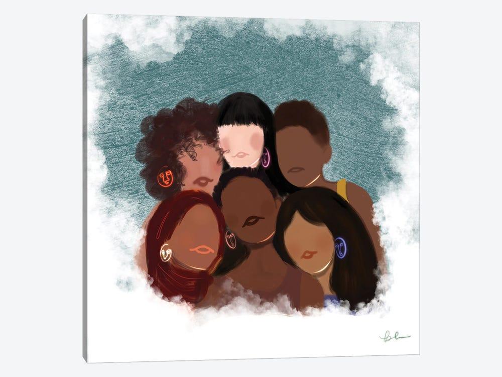 Empowered Women by Bri Pippens 1-piece Canvas Art Print