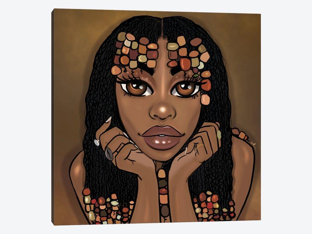 Goddess by Bri Pippens 1-piece Canvas Art