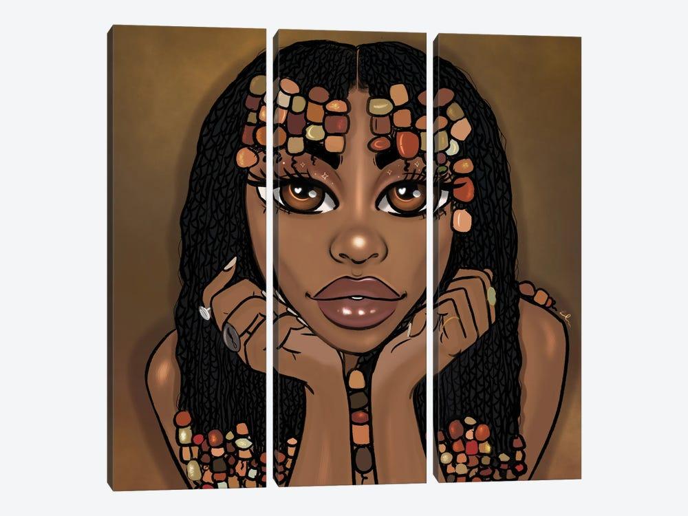Goddess by Bri Pippens 3-piece Canvas Art