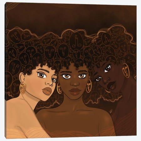 Sisterhood Canvas Print #BRP66} by Bri Pippens Canvas Art