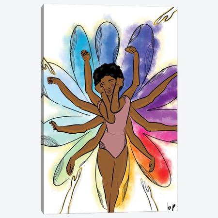 Blossom Canvas Print #BRP71} by Bri Pippens Canvas Artwork
