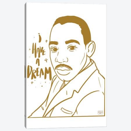 I Have A Dream Canvas Print #BRP76} by Bri Pippens Canvas Print