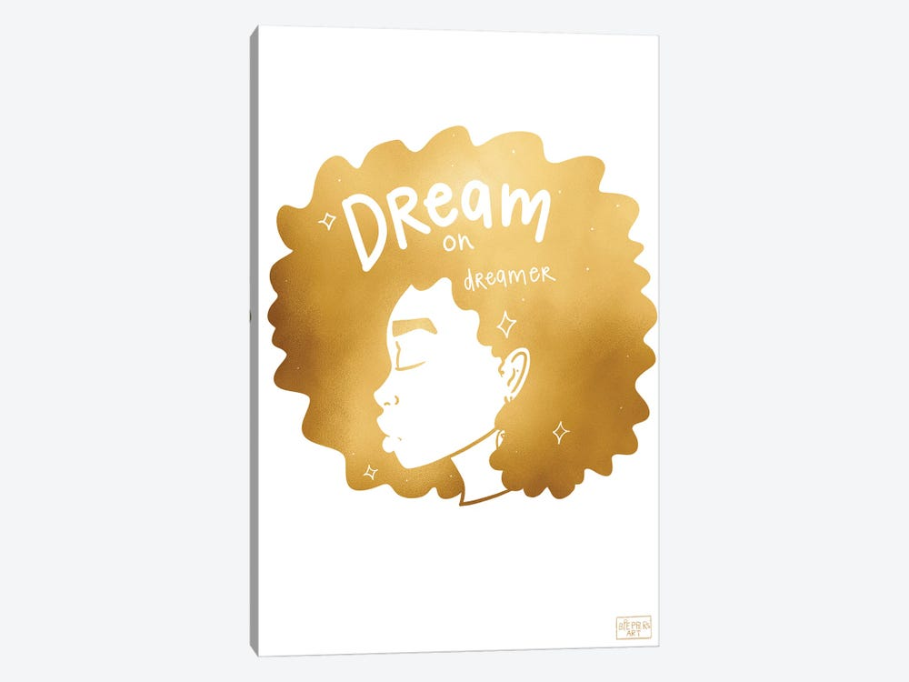 Dream On by Bri Pippens 1-piece Canvas Wall Art