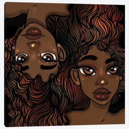Duality Canvas Print #BRP80} by Bri Pippens Canvas Print