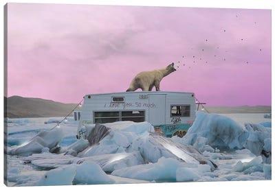 Breaking The Ice Canvas Art Print