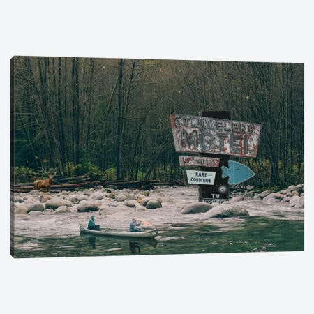 Follow The Signs Canvas Print #BRU22} by Jason Brueck Canvas Wall Art