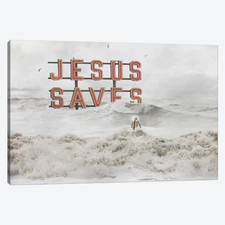 God Help Us Canvas Print #BRU25} by Jason Brueck Canvas Print