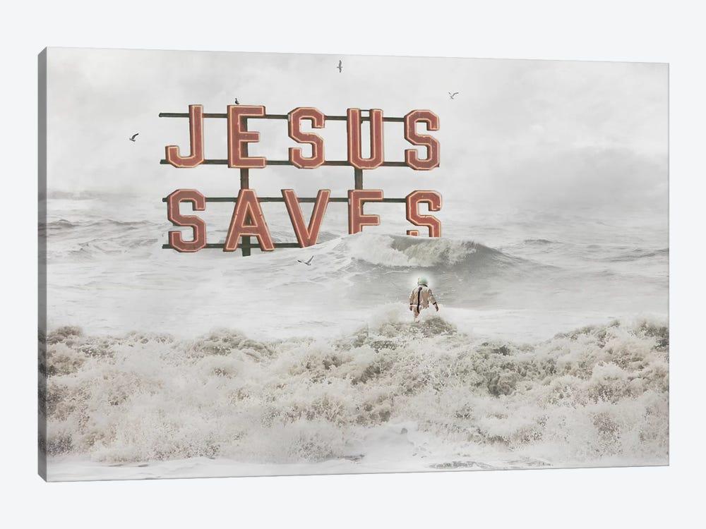 God Help Us by Jason Brueck 1-piece Canvas Art