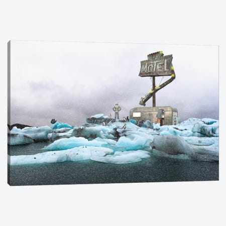 A Harsh Regality Canvas Print #BRU2} by Jason Brueck Canvas Wall Art