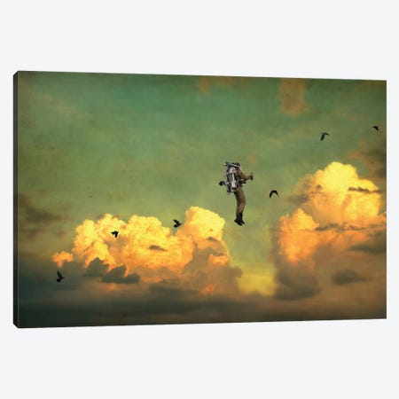 Icarus Canvas Print #BRU30} by Jason Brueck Canvas Art Print