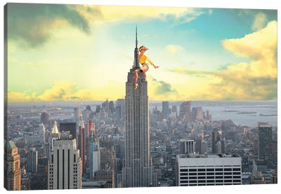 NYC Pinup Canvas Art Print