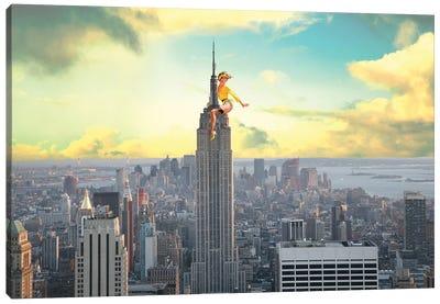 NYC Pinup Canvas Art Print