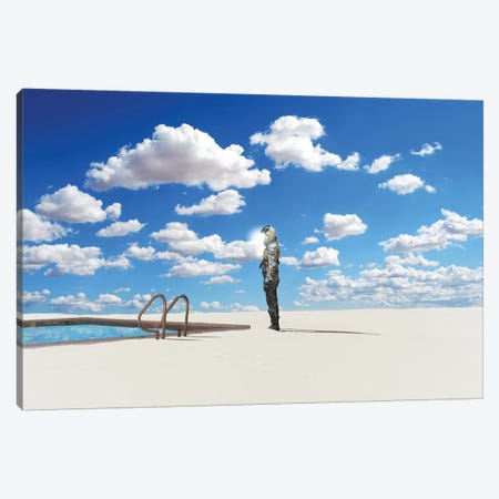 Off The Deep End Canvas Print #BRU39} by Jason Brueck Canvas Print