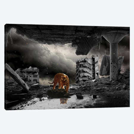 A Most Curious Catastrophe Canvas Print #BRU4} by Jason Brueck Canvas Print