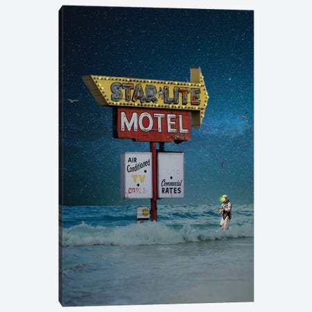 Star Lite, Star Brite Canvas Print #BRU52} by Jason Brueck Art Print