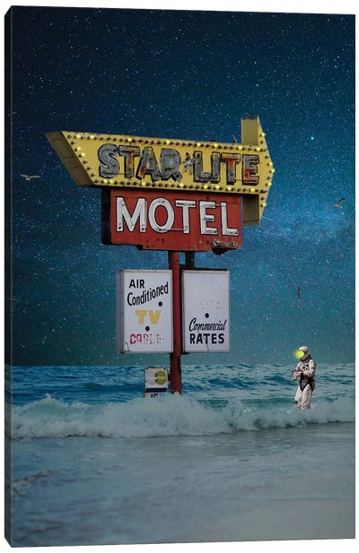 Star Lite, Star Brite Canvas Art Print