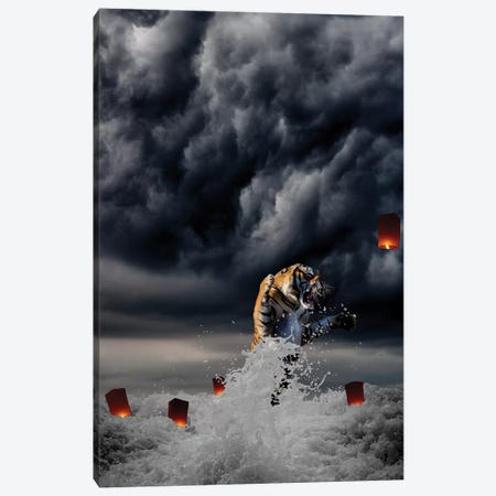 The One That Got Away Canvas Print #BRU59} by Jason Brueck Canvas Art Print