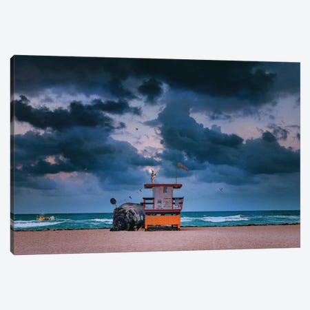 The Sentinel Canvas Print #BRU61} by Jason Brueck Canvas Wall Art