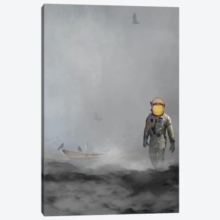 Troubled Waters Canvas Print #BRU65} by Jason Brueck Canvas Print