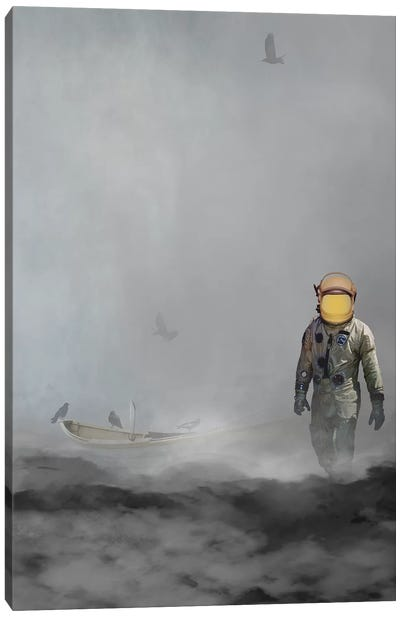 Troubled Waters Canvas Art Print