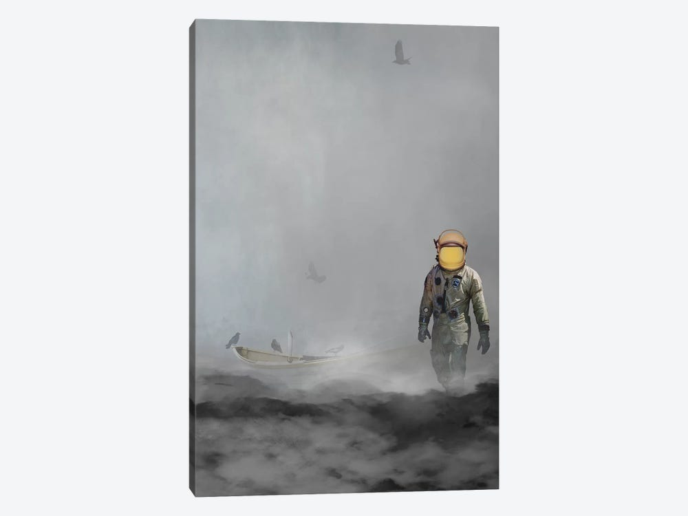 Troubled Waters by Jason Brueck 1-piece Canvas Art