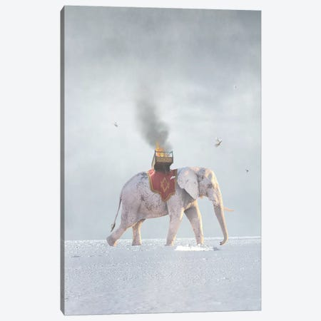 War & Peace Canvas Print #BRU67} by Jason Brueck Canvas Art Print
