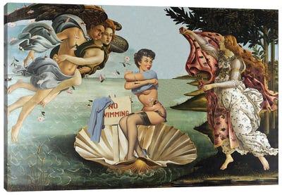 Water Birth Canvas Art Print