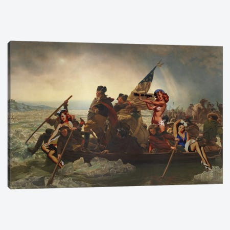 Yankee Doodle Candy Canvas Print #BRU70} by Jason Brueck Canvas Print