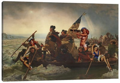 Yankee Doodle Candy Canvas Art Print