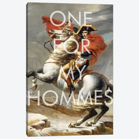One for My Hommes  Canvas Print #BRU73} by Jason Brueck Canvas Print