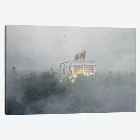 Becoming The Hunted Canvas Print #BRU9} by Jason Brueck Canvas Art