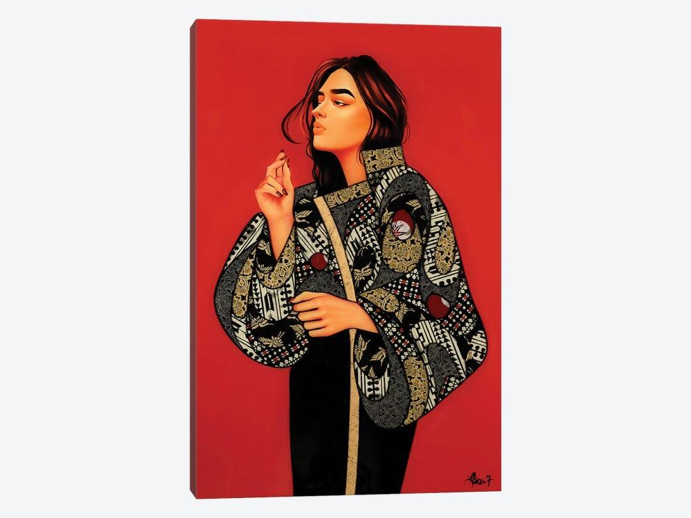 New Blood III by Lauren Brevner 1-piece Canvas Print