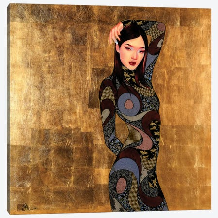 Ran Canvas Print #BRV12} by Lauren Brevner Canvas Art