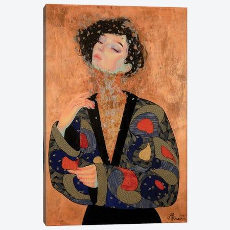 Shakudo Canvas Print #BRV14} by Lauren Brevner Canvas Print