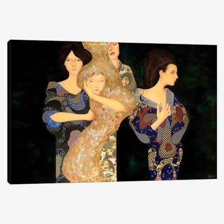 Toshi No Seishin Canvas Print #BRV15} by Lauren Brevner Canvas Print