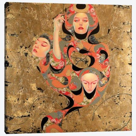 Tsunagaru Canvas Print #BRV16} by Lauren Brevner Canvas Print