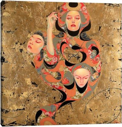 Tsunagaru Canvas Art Print
