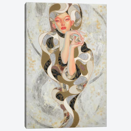 Wabi-Sabi Canvas Print #BRV17} by Lauren Brevner Canvas Print