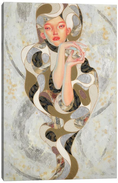 Wabi-Sabi Canvas Art Print