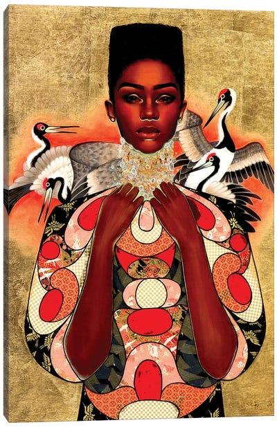 Divine Skin Canvas Art Print