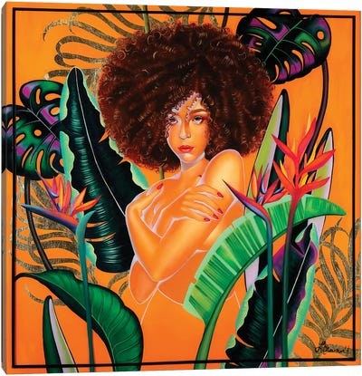 Hayleau Canvas Art Print