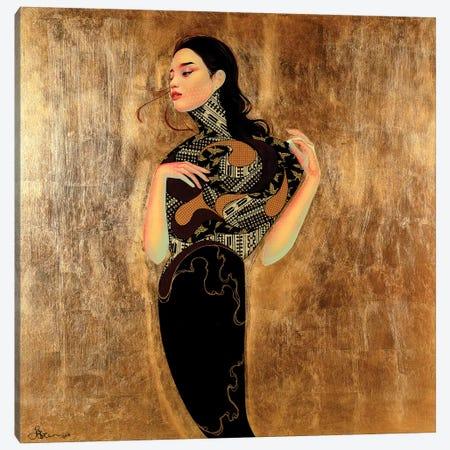 Hyacinth Canvas Print #BRV5} by Lauren Brevner Canvas Artwork