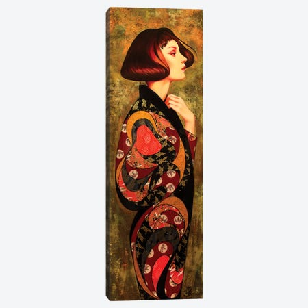 Iris Canvas Print #BRV6} by Lauren Brevner Canvas Art
