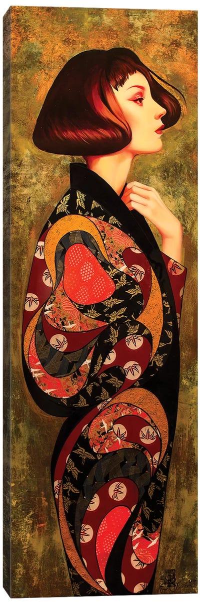 Iris Canvas Art Print