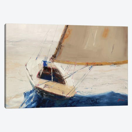 Single-Handed Canvas Print #BRW11} by John Burrows Art Print