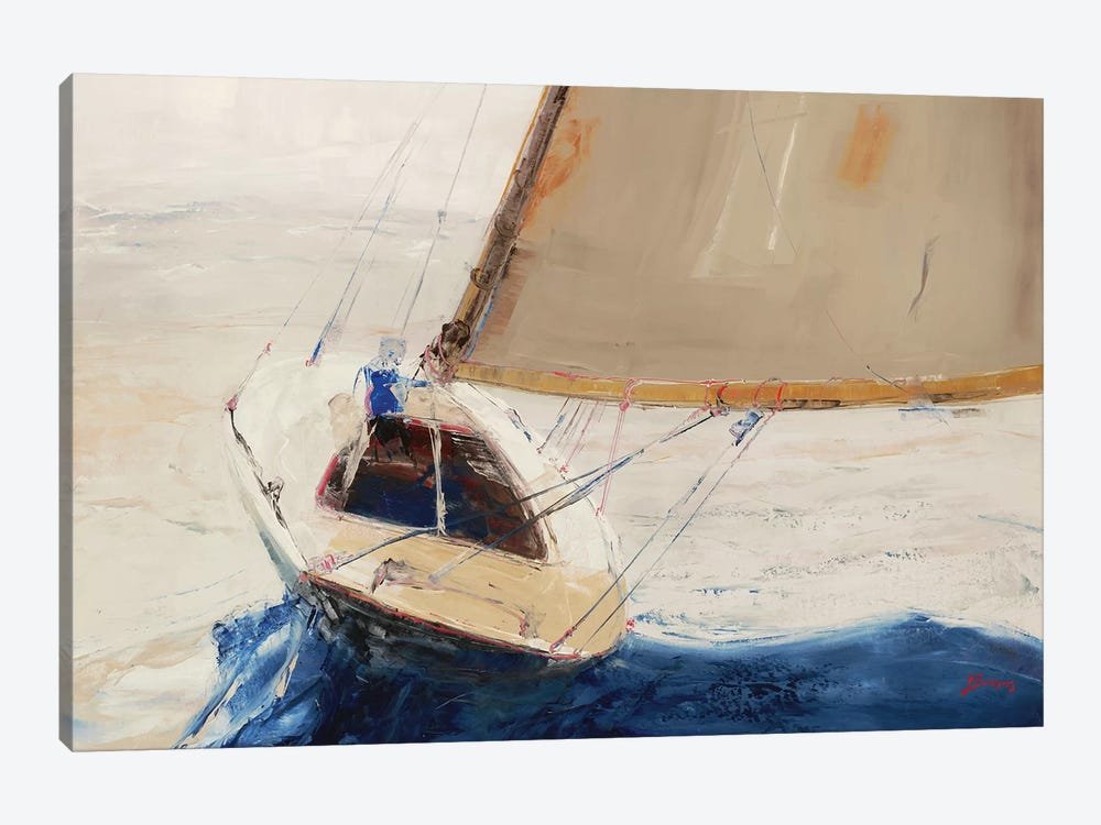 Single-Handed by John Burrows 1-piece Canvas Wall Art