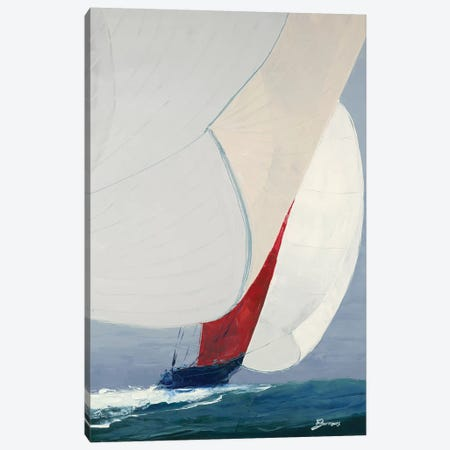 Chutes Up Canvas Print #BRW13} by John Burrows Canvas Art Print